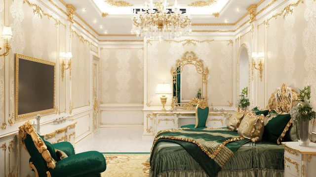 Luxury Villa Interiors In 2020 With Images Luxurious Bedrooms