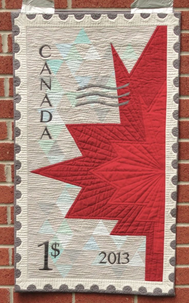 Happy Canada Day Quilt By M R Charbonneau Quilt Matters