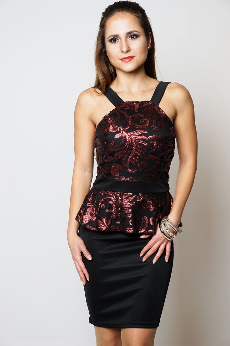Newly added product: Soft Wine Sequin ... Have a look here:http://www.fbargainsgalore.co.uk/products/soft-wine-sequin-floral-sleeveless-womens-peplum-dress?utm_campaign=social_autopilot&utm_source=pin&utm_medium=pin
