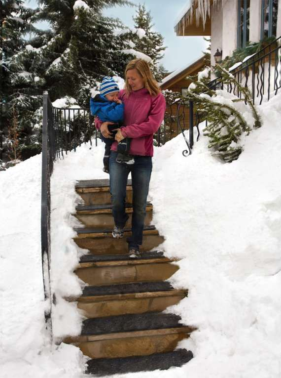Use Ice-Melt Products to Keep Your Walkways Safe: http://www.askbobcarr.com/ice-melt-products-safe/ #brightideas #winter #ice #christmas #holiday #snow