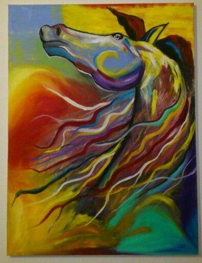 Horse, Oil, 80x60