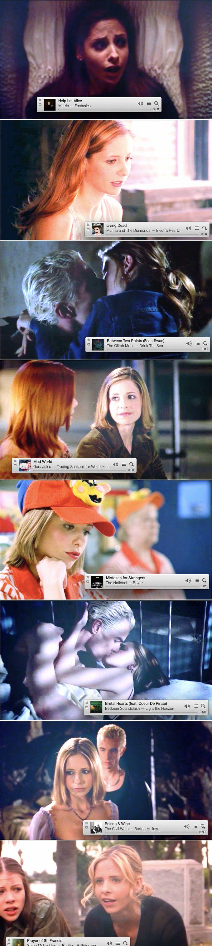 A Buffy Summers Season 6 Playlist #btvs