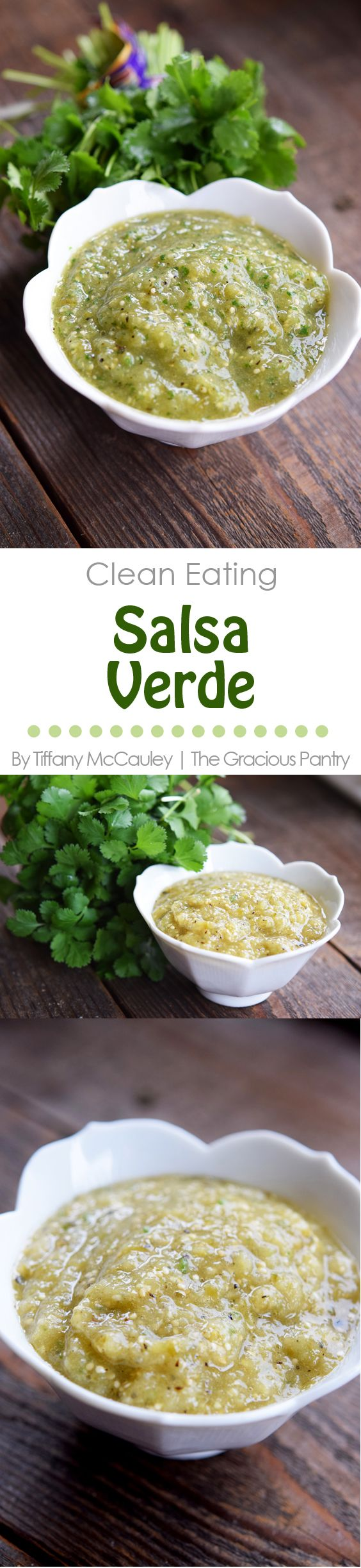 Clean Eating Recipes | Salsa Verde Recipe | Clean Eating Salsa Recipes ~ http://www.thegraciouspantry.com
