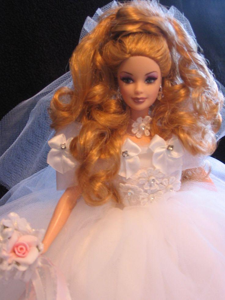 ooak barbie bride barbie you beautiful doll pinterest