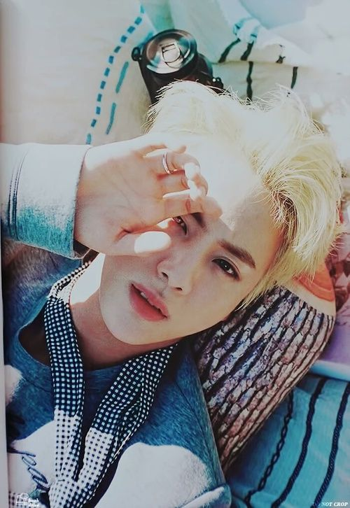 #5 - Jin from BTS  My beloved bias from Bangtan. I am crazy about him cause he always makes me laugh and he is just so beautiful.