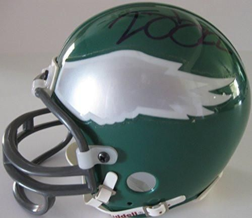 Duce Staley Philadelphia Eagles, Signed, Autographed, Mini Helmet, a COA Will Be Included