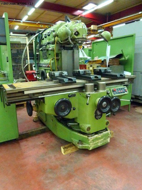 milling machine huron mu6 second hand machines tools for sale