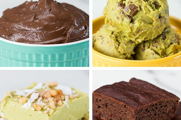 AVOCADO DESSERTS 4 WAYS  You Won't Believe How Good These Avocado Desserts Are