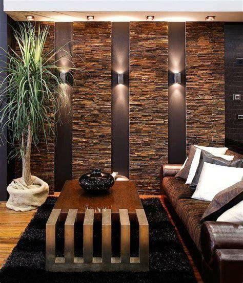 Stone Wall Design, Tv Wall Design, Ceiling Design, Living Room Interior, Home Interior Design, Living Room Decor, Stone Wall Living Room, Living Rooms, Foyer Design