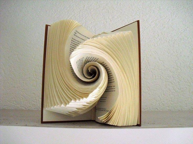 Spiral book art