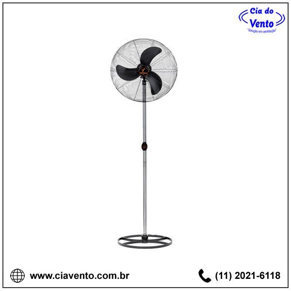 Ventilador de Coluna (Pedestal) 65 cm Ventisilva VCL Preto. Peça já o seu! (11) 2021-6118