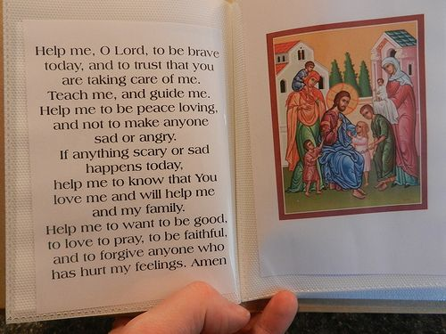 Orthodox Prayer Book for Children (Free Download) from Be As a Light