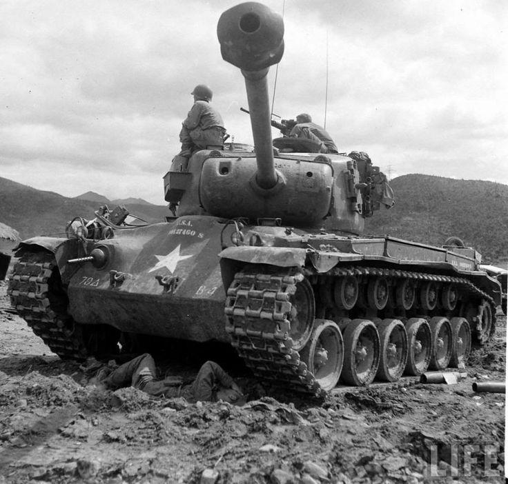 pershing tank photo pershing1950korea