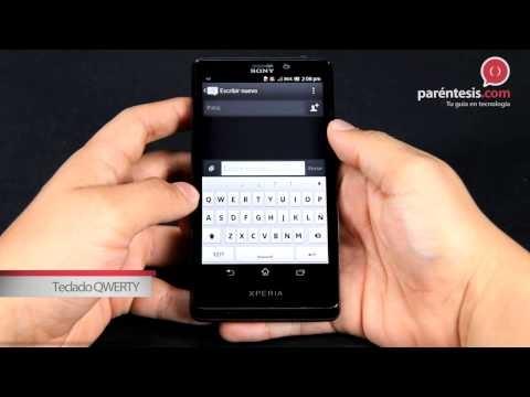 Celular Sony Xperia T (LT30p).
