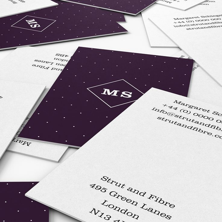 Schlegel – one of our Spots business card templates available to customise and order on our site.