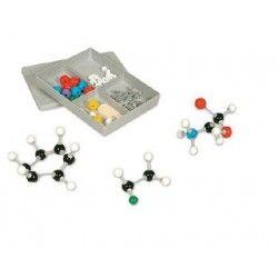 Kit molecular Química Orgánica, alumno: 50 piezas de átomos