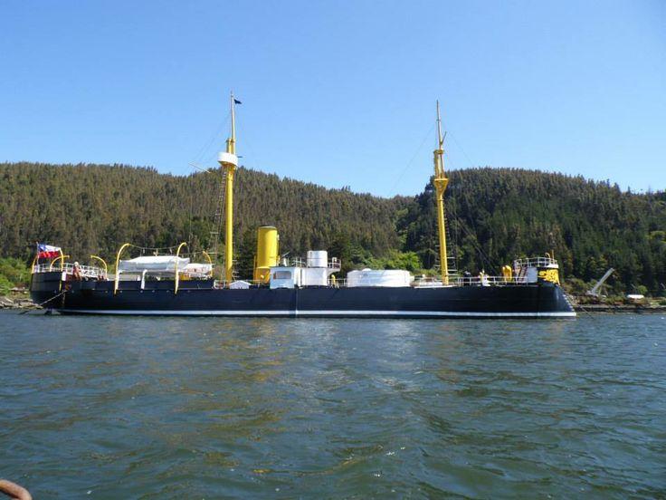 La famoso Barco  Esmeralda , Talcahuano ..