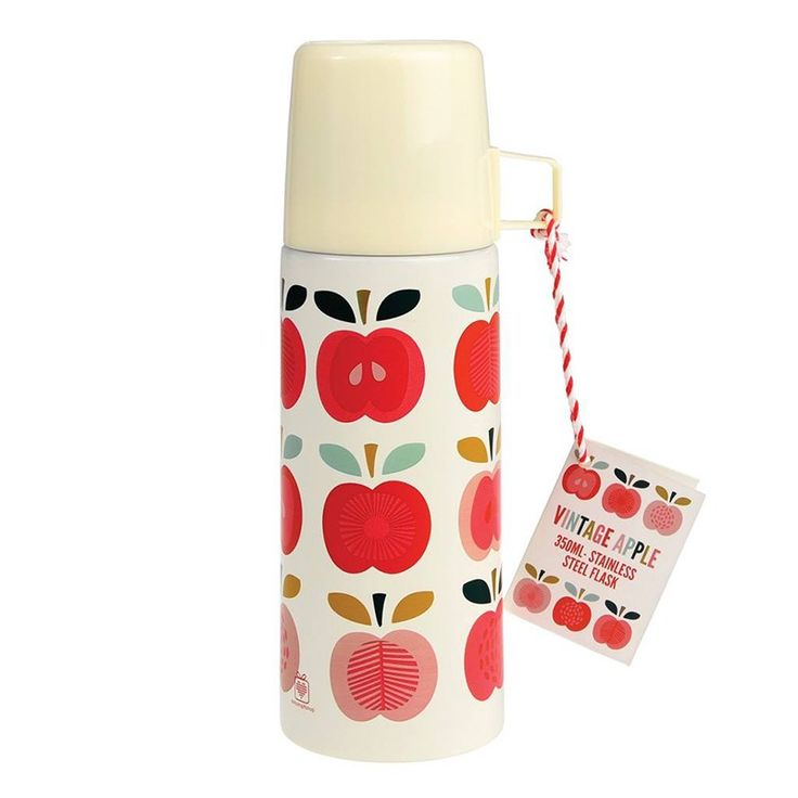 Rexinter Kinder Thermosflasche Apfel