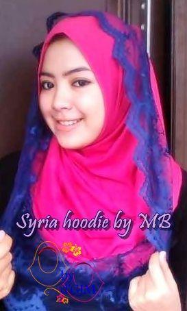 Jilbab Syria Hoodie Renda Modis dan Cantik.... http://grosirjilbabmurah.net/grosir-jilbab-murah/jilbab-syria-hoodie-renda-modis-dan-cantik