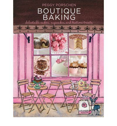 Boutique Baking has an unrivalled range of recipes that combines traditional baking with chic, simple finishing touches.  It captures the essence of Peggy's technical skill and inspired use of colour while also ensuring that each cake is both achievable and delicious to eat.