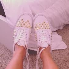 lovely studded vans