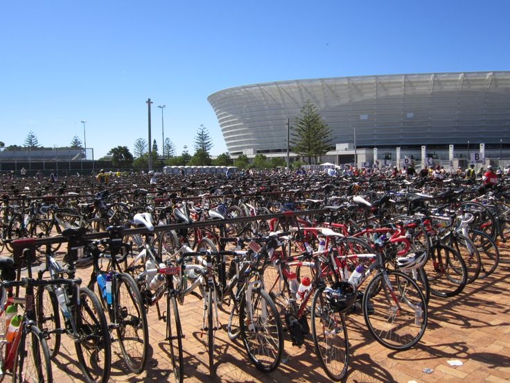 """Cycle Park"" after the race!!"