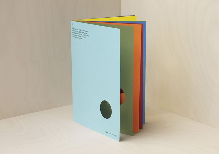Keen to promote the new selection of colours introduced into Colorplan, our aim was to create a piece that highlighted the beautiful juxtaposition of colours within the range. Referencing Johannes Itten's 'Seven Methods of Contrast in Colour', the piece is made up of three interactive 'play' books which encourage exploration and discovery.