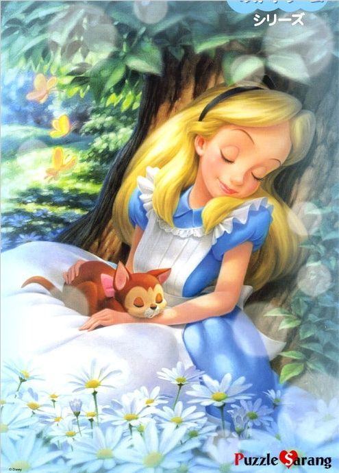 1.  Alice Dreaming. Add handmade Sheet Music Daisies; Bird in Nest Charm