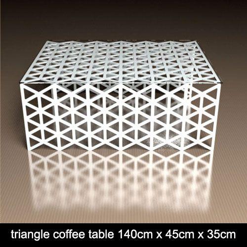 Nottingham Lace Metal Side Table