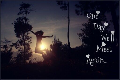 Ayah.... One Day Well Meet Again