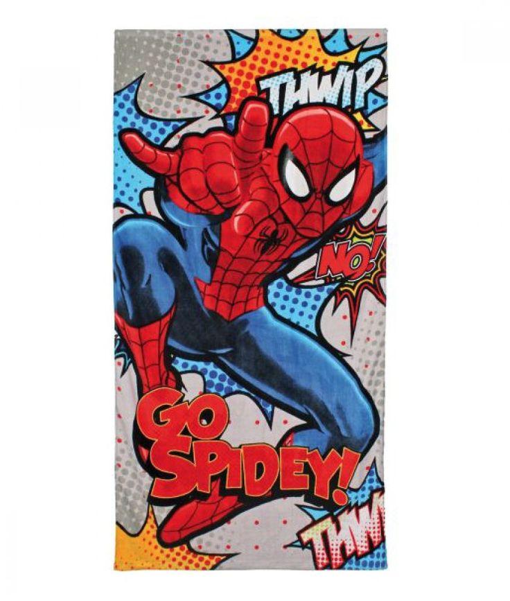 Marvel Handdoek Spiderman met deze Superheld
