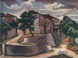 Renato Paresce: Paesaggio
