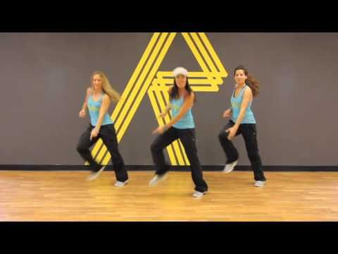 REFIT DANCE FITNESS--Stayin' Alive (Teddybears Remix) TONING