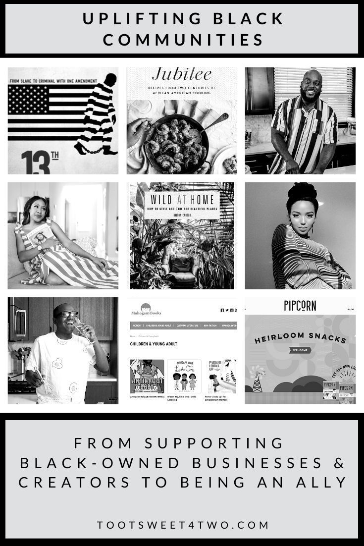 See how you can uplift Black communities from home by educating yourself, donating, supporting Black creators, and buyin…