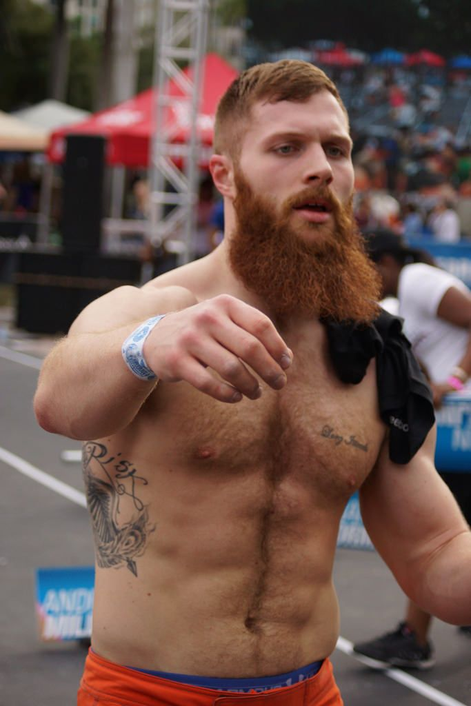 Redhead guy from er