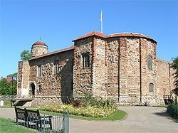 My first castle! Colchester, Essex, England