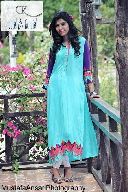 Cuts & Kurtis Summer Dresses 2013 For Women 0016