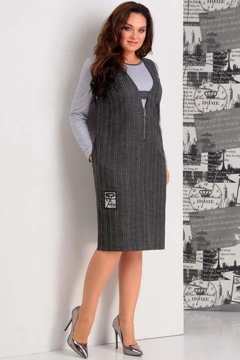 b4dd99f95a82d4b Коллекция женской одежды больших размеров белорусской компании JURIMEX осень -зима 2018-19