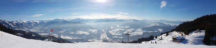 Ski Weekend in Söll Austria [9552x2144]