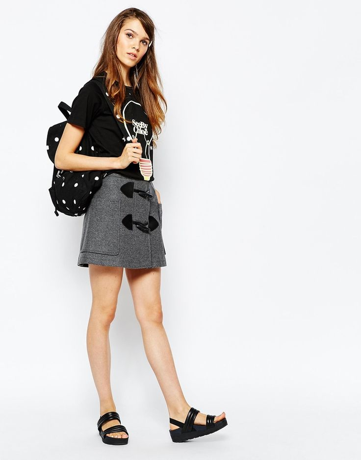 See By Chloe Toggle Skirt