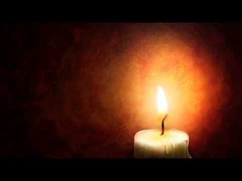 Fondos animados Luz de una vela Full HD animated background