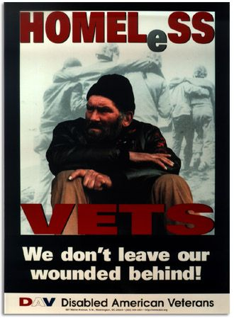 It shocks me that many of our veterans don't have a place to live, a job or even a hot meal. It is shameful that our country doesn't revere their vets. They fought to defend our freedom willingly and they get nothing much in return. Sad, sad, sad.