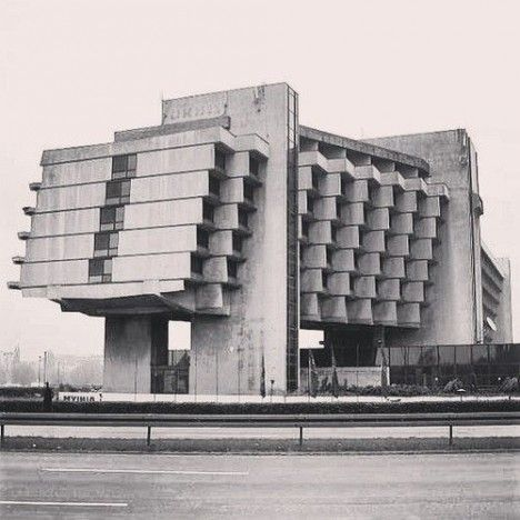 Cruelty of Concrete: Harsh Architecture in Berlin
