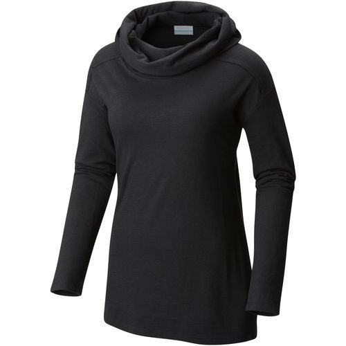 Columbia Sportswear Women's Easygoing Cowl Plus Size Long Sleeve Tunic Shirt (Black, Size 3X) - Women's Outdoor, Women's Outdoor Long-Sleeve Tops a...