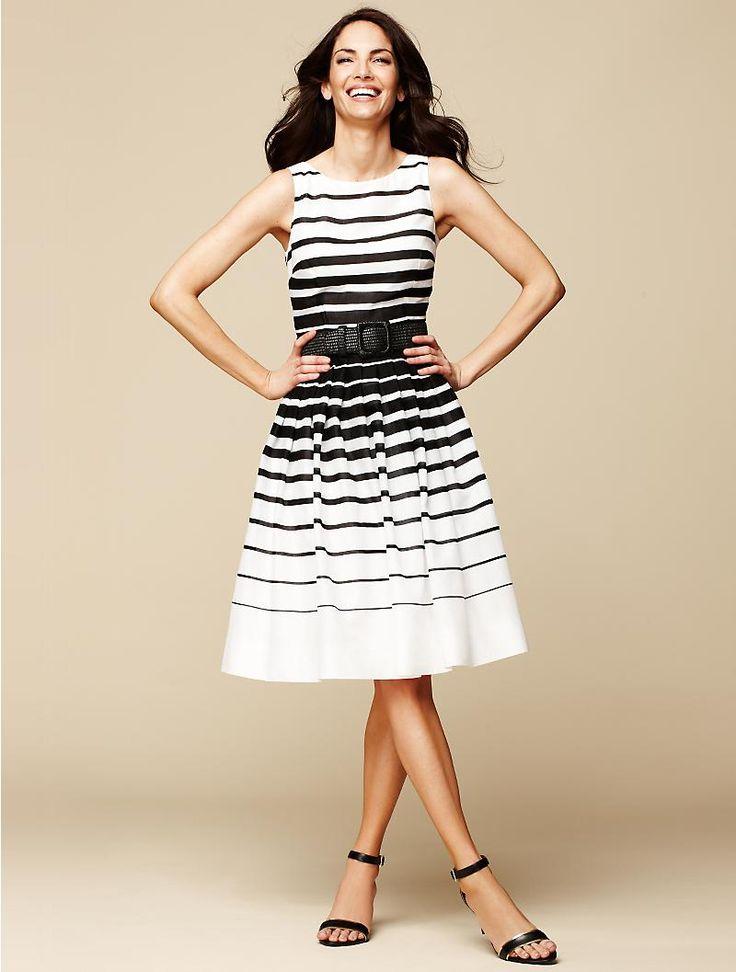 Talbots - Nautical-Stripe Dress | Dresses | Petites