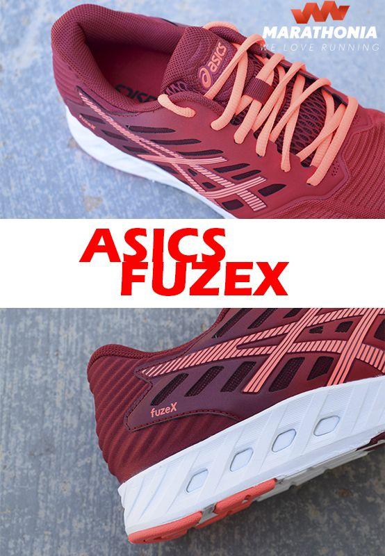 Las zapatillas running ASICS FuzeX para mujer son ultraligeras y ofrecen al mismo tiempo protección y amortiguación. Muy duraderas.-Para pisada neutra. -Drop de 8mm. -ASICS FuzeX, fabricadas para asfalto. Para más información haz click en la foto.#zapatillas #calzado #Asics #FuzeX #running #mujer #deporte #shoes #marathonia