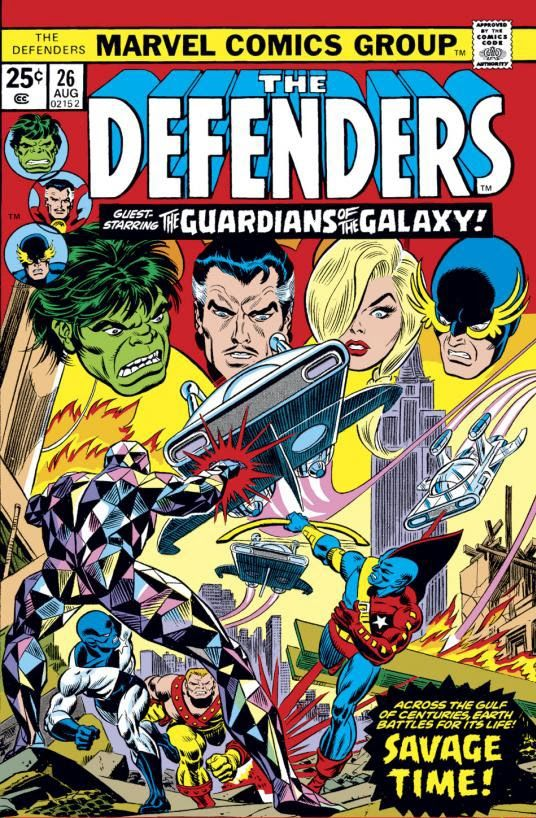 #MARVEL Comics Group [] The Defenders n' Guardians of the Galaxy