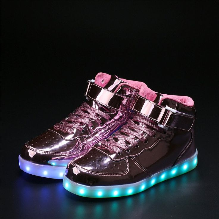 #sneakers #ledsneakers #shinypinksneakers #shinypinkledshoes #hightopsneakers. Sneakers are often used for everyday wear. Shop latest shiny pink led light up sneakers shoes from lightupify.com