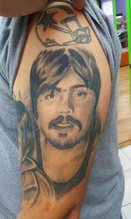 Portrait tattoo tattoos by adrian flores at all star for Tattoos san antonio tx