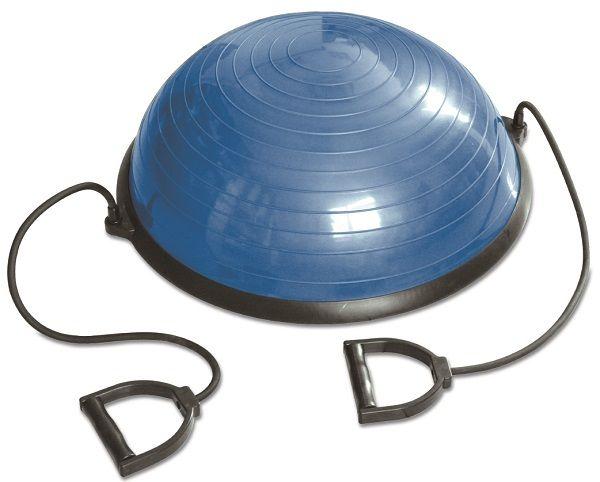 Balanstrainer RS Sports  Description: De Balanstrainer RS Sportsinclusief weerstandsbandenis een hulpmiddel die coördinatie balans en kracht verbetert. Het biedt uitkomst wanneer je aan je balans moet werken maar is tevens zeer geschikt voor een meer dan complete workout. De balance trainer is te gebruiken door kinderen volwassenen en professionele sporters. \\n De talrijke oefeningen die uit te voeren zijn van makkelijk naar moeilijk bieden voor iedere sporter een uitdaging. \\n Door de…